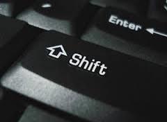 ms access - download file disattiva shift