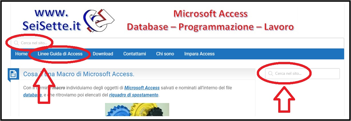 LineeGuidaDiAccess